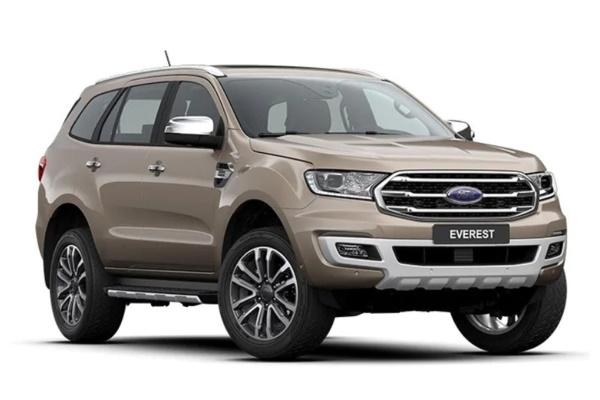 Ford Everest U375 Facelift SUV
