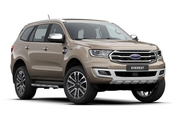 Ford Everest wheels and tires specs icon