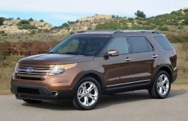 Ford Explorer wheels and tires specs icon