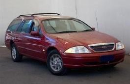 Ford Fairmont AU Kombi