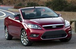 Ford Focus II Facelift Convertible