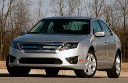 Ford Fusion I Facelift Saloon