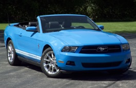 Ford Mustang V Facelift Convertible