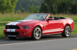 Ford Mustang Shelby GT500 II Restyling Convertible