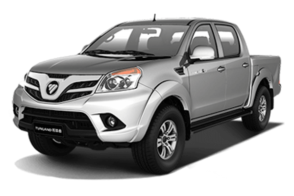 Foton Tunland S wheels and tires specs icon