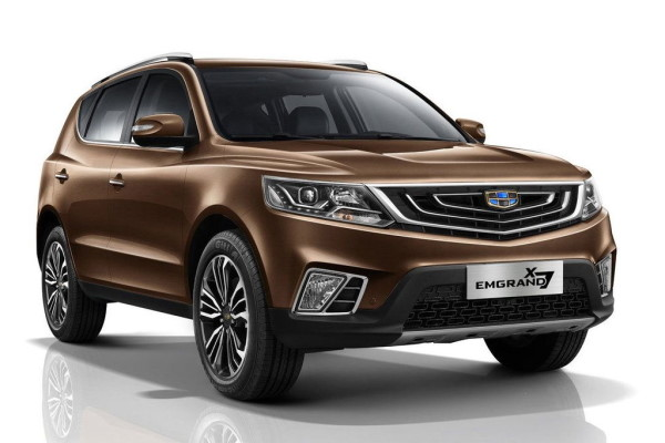 Geely Emgrand X7 wheels and tires specs icon