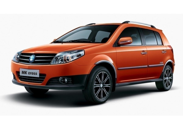 Geely MK Cross wheels and tires specs icon