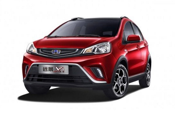 Geely Vision X1 wheels and tires specs icon