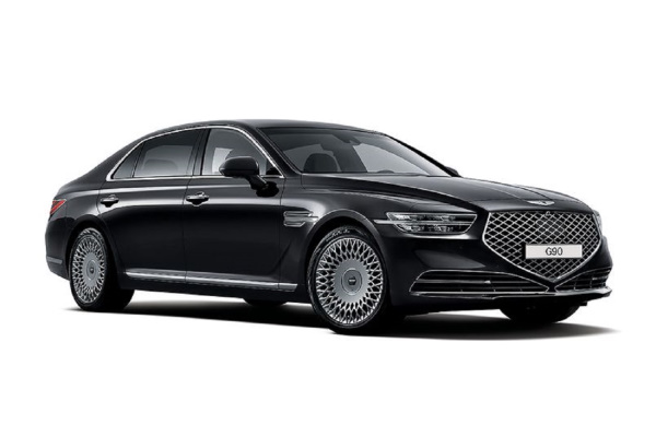 Genesis G90 wheels and tires specs icon
