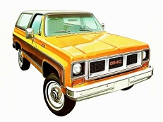 GMC Jimmy K5 wheels and tires specs icon