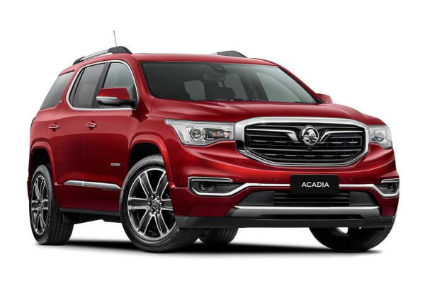 Holden Acadia wheels and tires specs icon