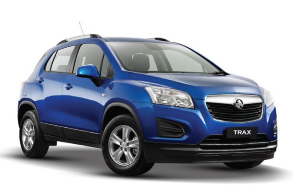 Holden Trax wheels and tires specs icon