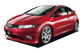 Honda Civic Type R wheels and tires specs icon