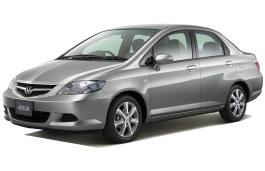 Honda Fit Aria wheels and tires specs icon