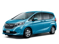 Honda Freed wheels and tires specs icon