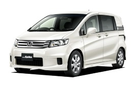 Honda Freed Spike wheels and tires specs icon