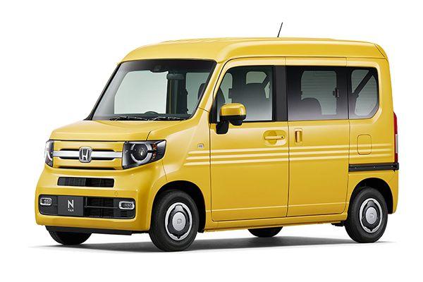 Honda N-VAN wheels and tires specs icon