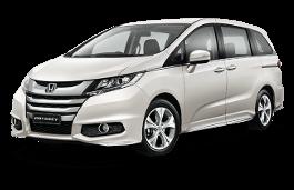 Honda Odyssey J wheels and tires specs icon