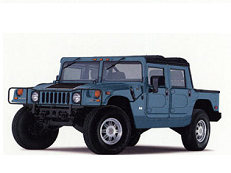 Hummer H1 I Open Off-Road Vehicle