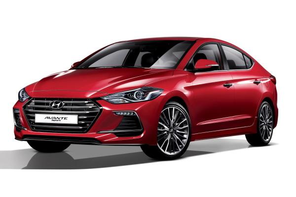 Hyundai Avante AD Saloon