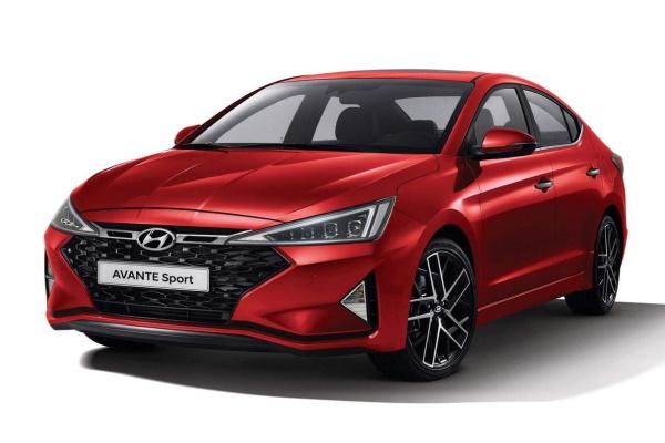Hyundai Avante AD Facelift Saloon