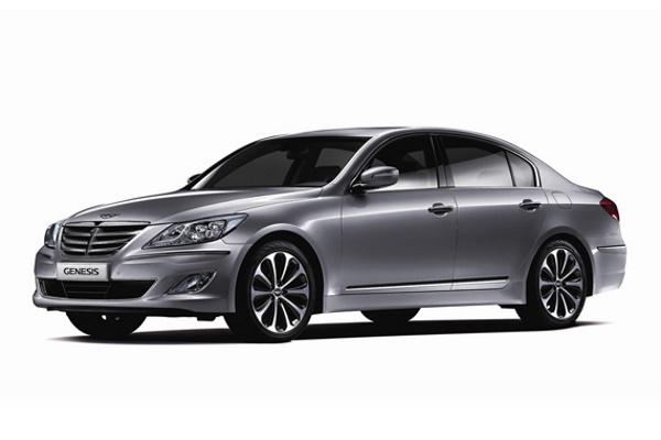 Hyundai Genesis wheels and tires specs icon