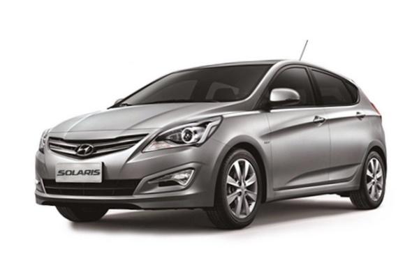 Hyundai Solaris RBr Facelift Hatchback
