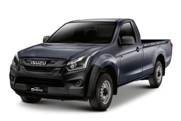 Isuzu D-MAX II (RT) Facelift Pickup Single Cab