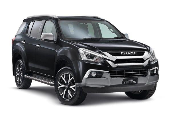 Isuzu mu-X I (UC) Facelift (RF20) SUV