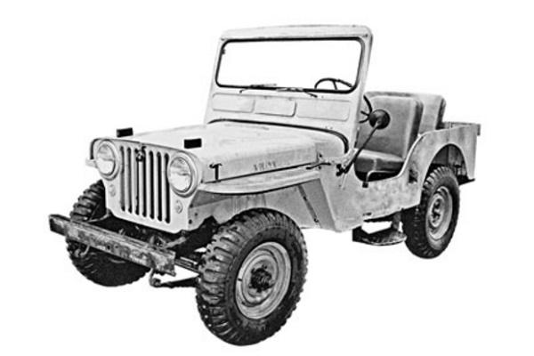 Jeep CJ CJ-3A Open Off-Road Vehicle