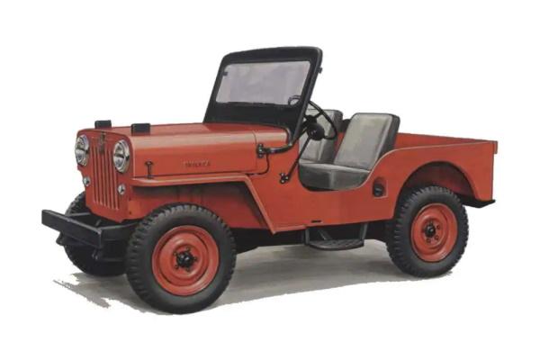 Jeep CJ CJ-3B Open Off-Road Vehicle