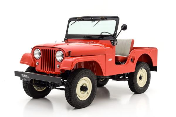 Jeep CJ CJ-5/CJ-6 Open Off-Road Vehicle