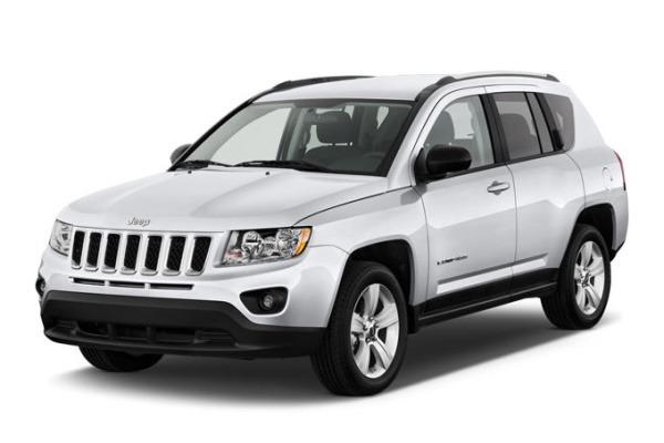 roues et icone de spécifications de pneus pour Jeep Compass