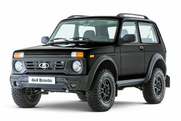 LADA 4x4 Bronto 輪轂和輪胎參數icon