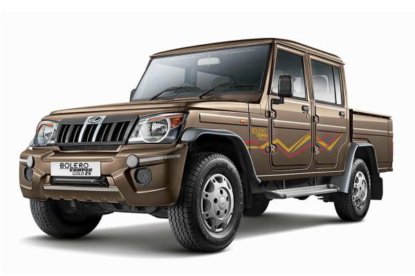 Mahindra Bolero Camper wheels and tires specs icon