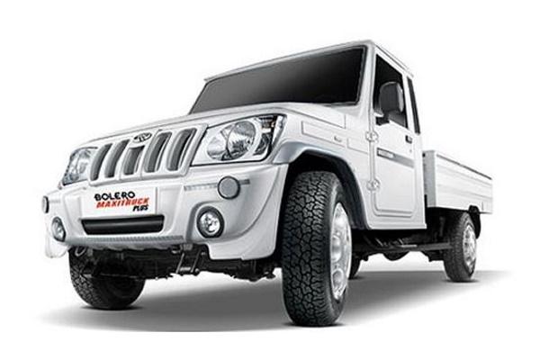 Mahindra Bolero Maxi Truck wheels and tires specs icon