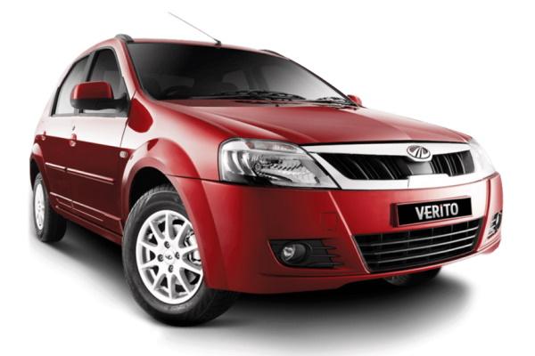 Mahindra Verito wheels and tires specs icon
