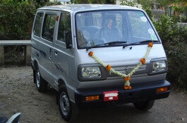 Maruti Omni wheels and tires specs icon