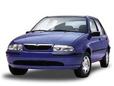 Mazda 121 wheels and tires specs icon