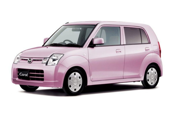 Mazda Carol wheels and tires specs icon