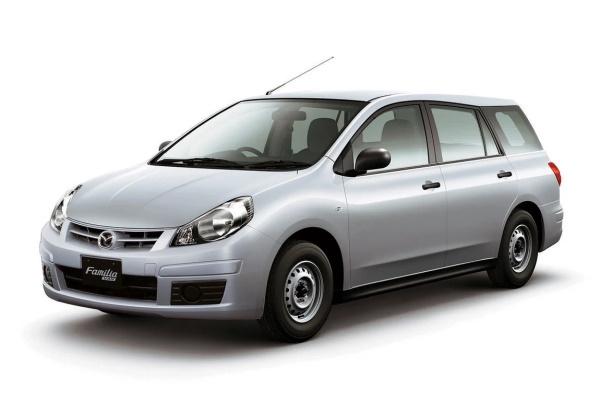 Mazda Familia Van wheels and tires specs icon
