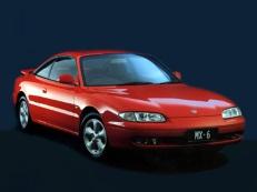 Mazda MX-6 wheels and tires specs icon