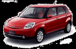 Mazda Verisa wheels and tires specs icon