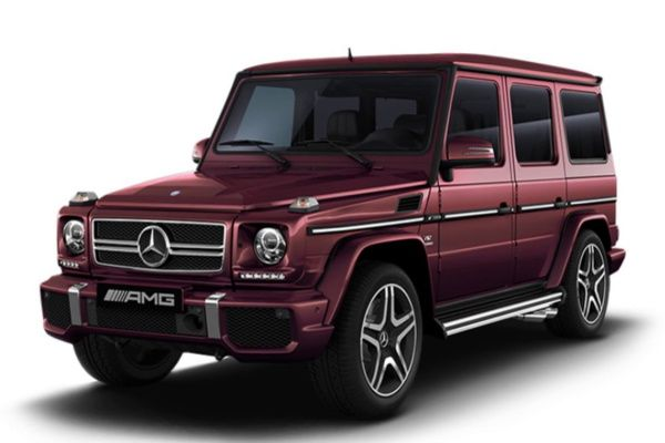 Mercedes-Benz G-Class AMG wheels and tires specs icon