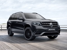 Mercedes-Benz GLS-Class AMG wheels and tires specs icon