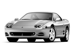 Mitsubishi 3000 GT wheels and tires specs icon