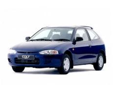 Mitsubishi Colt wheels and tires specs icon