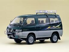 Mitsubishi Delica Star Wagon wheels and tires specs icon