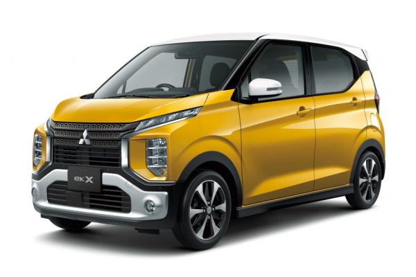 Mitsubishi eK X wheels and tires specs icon