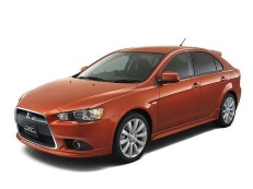 Mitsubishi Galant Fortis Sportback wheels and tires specs icon